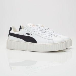 Puma x Fenty creeper sneakers white 10